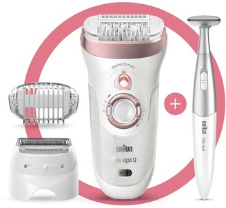 Braun Silk-epil 9 9-890 Epilator for Women for Long-Lasting Hair Removal