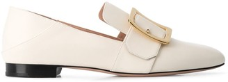 Bally Janelle buckle detail loafers
