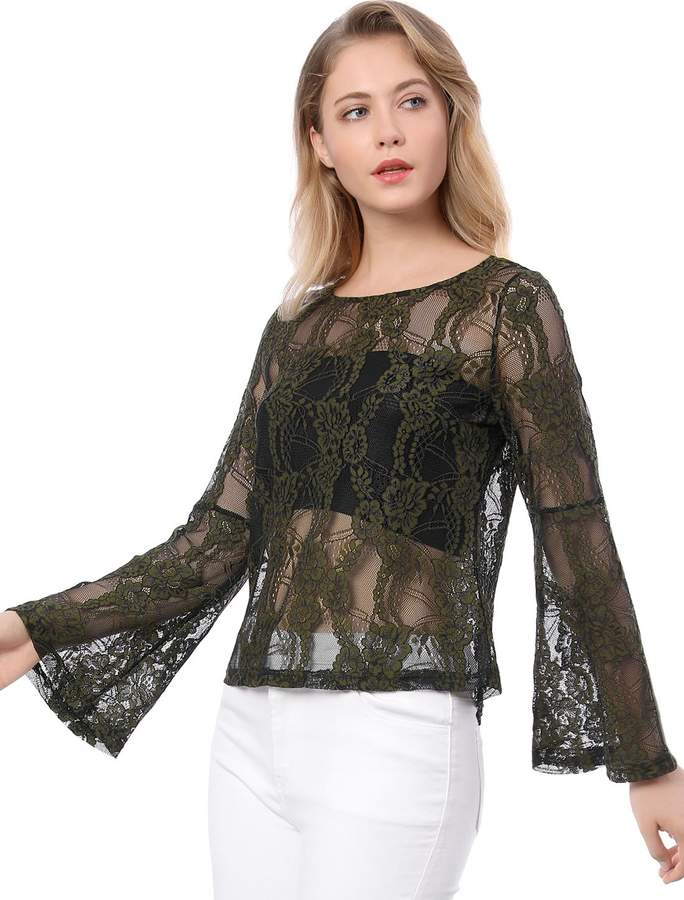 2a696c5021a68f See Through Lace Top - ShopStyle Canada