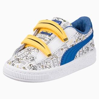 Puma Minions Basket Toddler Shoes