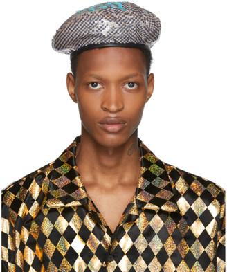 Gucci Multicolor GG Sequin Beret