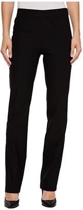 Tribal Stretch Bengaline 32 Flatten It Pull-On Pants (Black) Women's Casual Pants