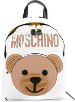 Moschino toy bear backpack - women - Leather/Nylon - One Size