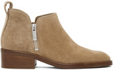 Thumbnail for your product : 3.1 Phillip Lim Beige Suede Low Alexa Boots