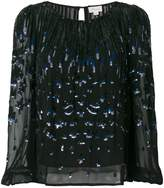 Temperley London sequin embellished blouse