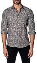 Jared Lang Skull Print Shirt