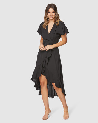Pilgrim Women's Black Maxi dresses - Lorin Maxi Dress - Size One Size, 6 at The Iconic