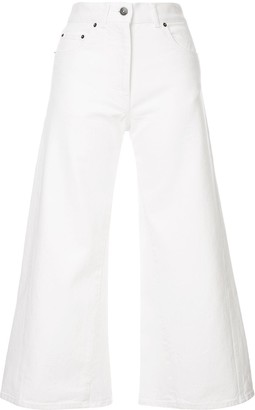 Ports 1961 Flare Cropped Trousers