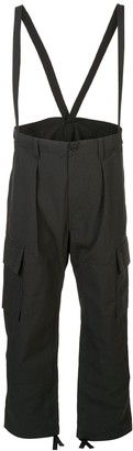 Snow Peak Loose Fit Trousers With Braces