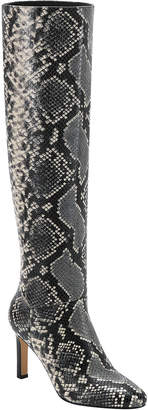 Marc Fisher Zadia Snake-Print Knee Boots