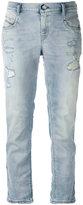 Diesel cropped jeans - women - Cotton/Spandex/Elastane/Lyocell - 24/32