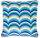 Jonathan Adler Embroidered Wool Throw Pillow