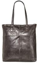 Frye Melissa Simple Zip Tote (Carbon) Handbags