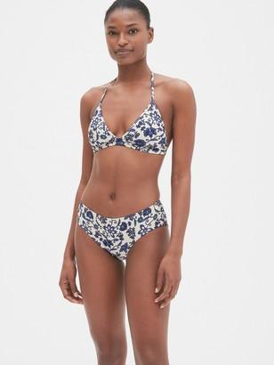 Gap Print Triangle Bikini Top