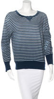 Current/Elliott Ombré Striped Sweatshirt