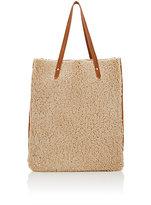 Barneys New York Women's Shearling Tote Bag