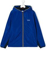 Boss Kids teen rainwear jacket