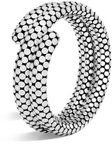 John Hardy Sterling Silver Dot Double Coil Bracelet in White - 100% Exclusive