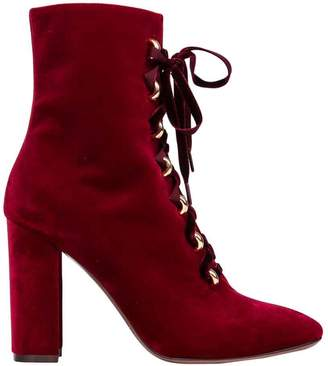 L'Autre Chose Lautre Chose LAutre Chose Velvet Ankle Boots