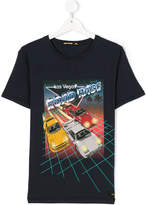 Finger In The Nose Road Rage print T-shirt