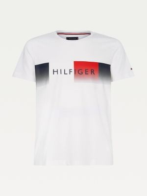 Tommy Hilfiger Big & Tall TH Cool Logo Regular Fit T-Shirt