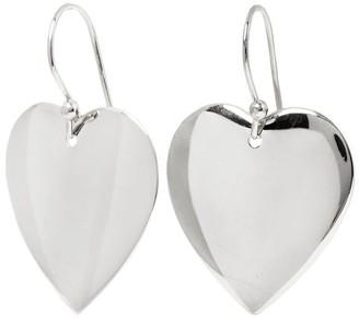 Mocola Heart Earrings In Sterling Silver