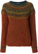 Mes Demoiselles textured pattern sweater