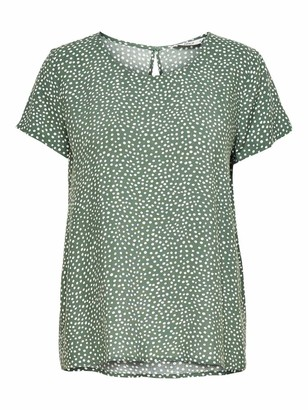 Only Women's Onlfirst One Life Ss AOP Top Noos WVN Blouse