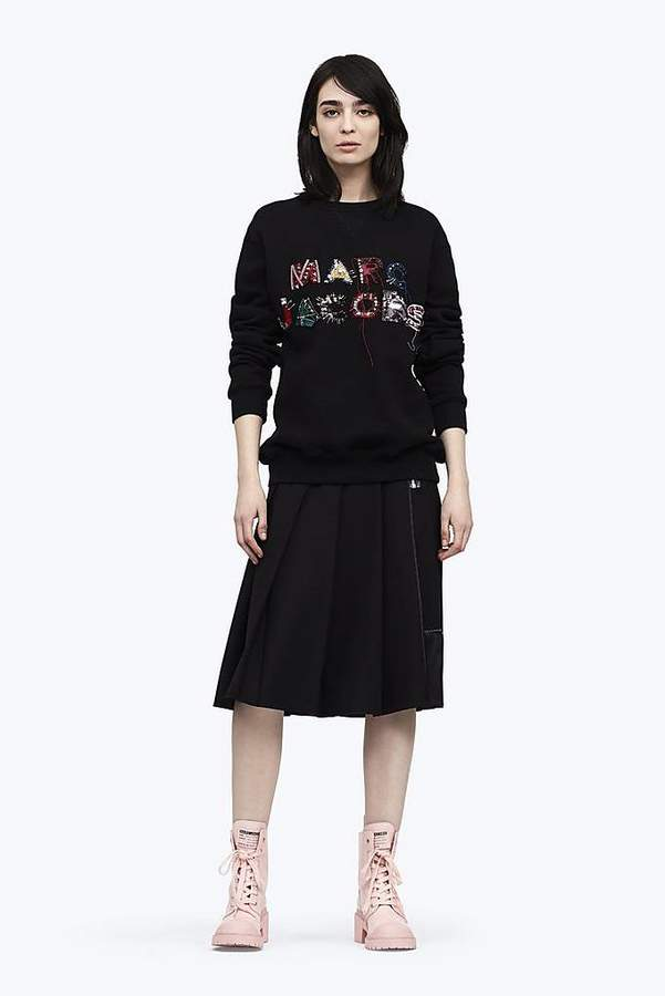 Marc Jacobs Embroidered Logo Sweatshirt