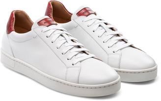 Magnanni Men's Elonso Lo Contrast-Trim Low-Top Sneakers