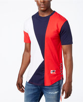 Reason Men's Side Tie Colorblocked T-Shirt
