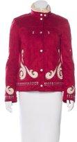 Bogner Short Embellished Coat