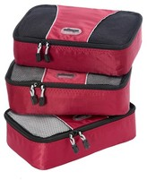 eBags Small Packing Cubes 3pc Set - Raspberry