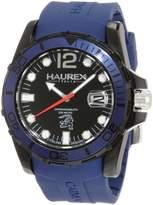 Haurex Italy Men's Caimano Luminous Rubber Watch N1354UNB