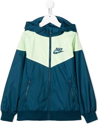 Nike Kids Windrunner zipped track jacket