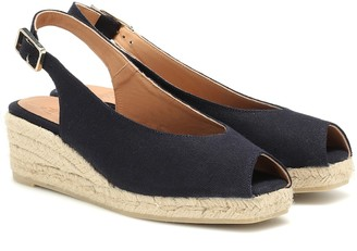 Castaã±Er Dosalia canvas wedge espadrilles