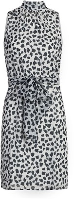New York & Co. Animal Print Halter Dress - Sweet Pea