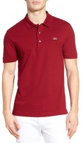 Lacoste Men's Regular Fit Pocket Pique Polo