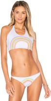 Lolli Swim Bright Halter Bikini Top