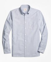 Brooks Brothers Solid Oxford Sport Shirt