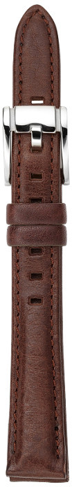 Fossil Leather Watch Strap – Dark Brown
