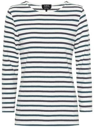 A.P.C. Catarina striped cotton top