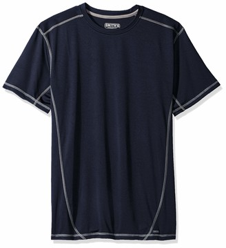 Smith's Workwear Men's Performance Contrast Crew T-Shirt