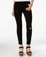 Jessica Simpson Ripped Vintage Black Wash Skinny Jeans