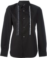 Comme des Garcons embroidered longsleeved shirt
