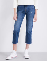 Levi's Wedgie straight high-rise denim jeans