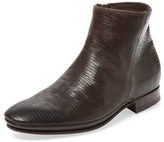 N.D.C. Made By Hand Juno Spale Tessus Embossed Leather Bootie