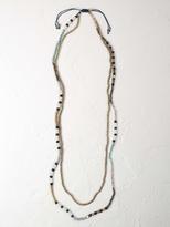 White Stuff Narrators bead necklace