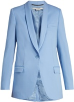 Stella McCartney Rose shawl-lapel wool blazer