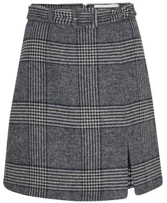 ALEXACHUNG Spilt mini skirt